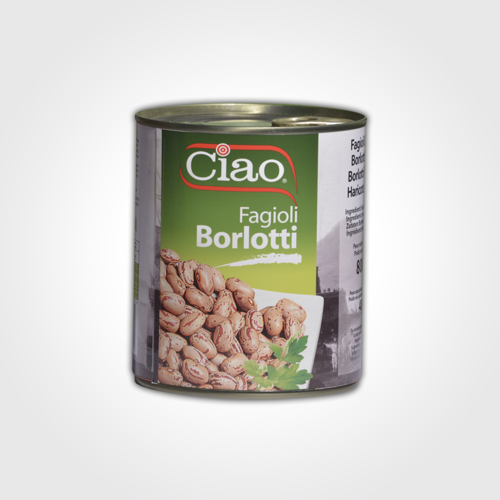 Ciao Fagioli Borlotti 800g