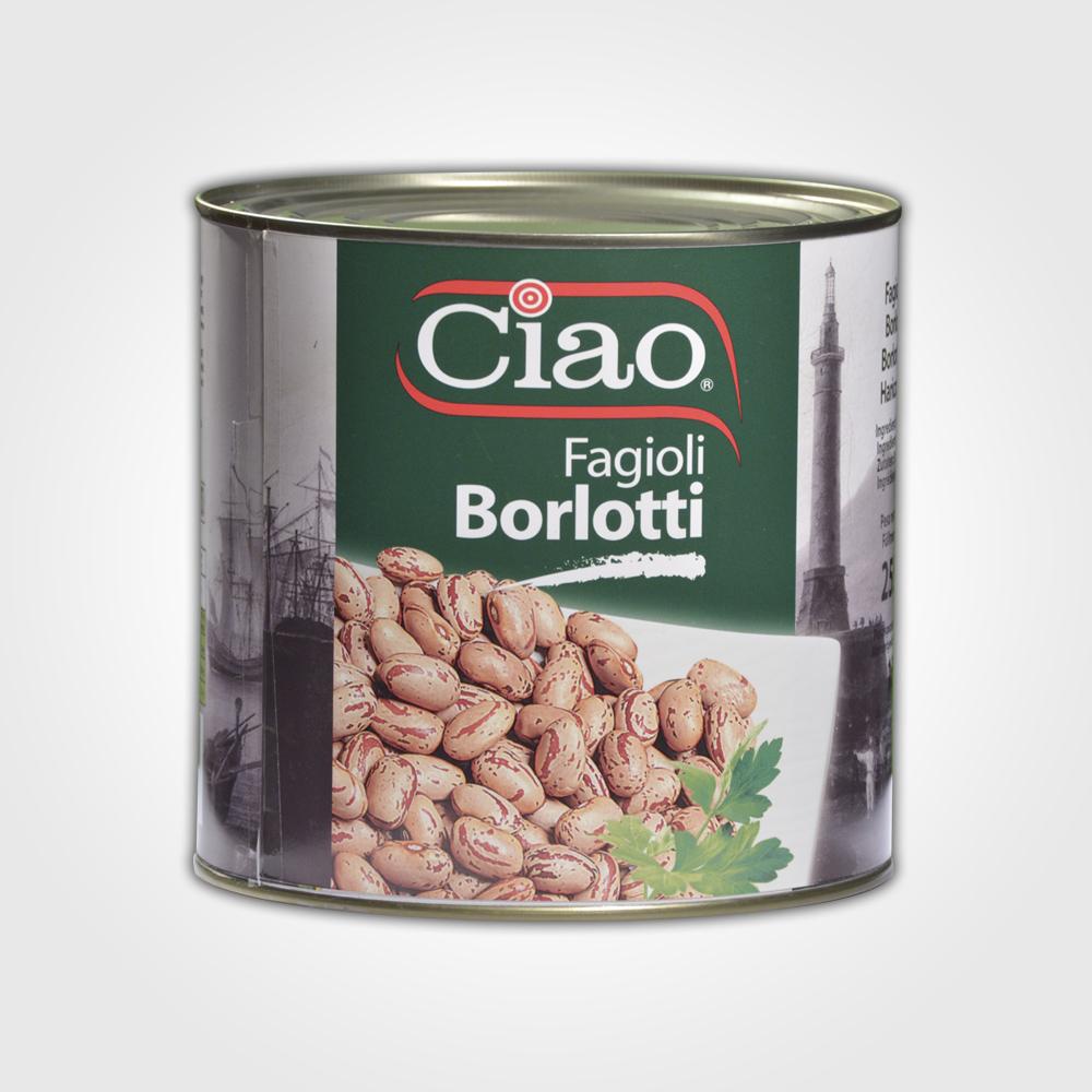 Ciao Fagioli Borlotti 2550g