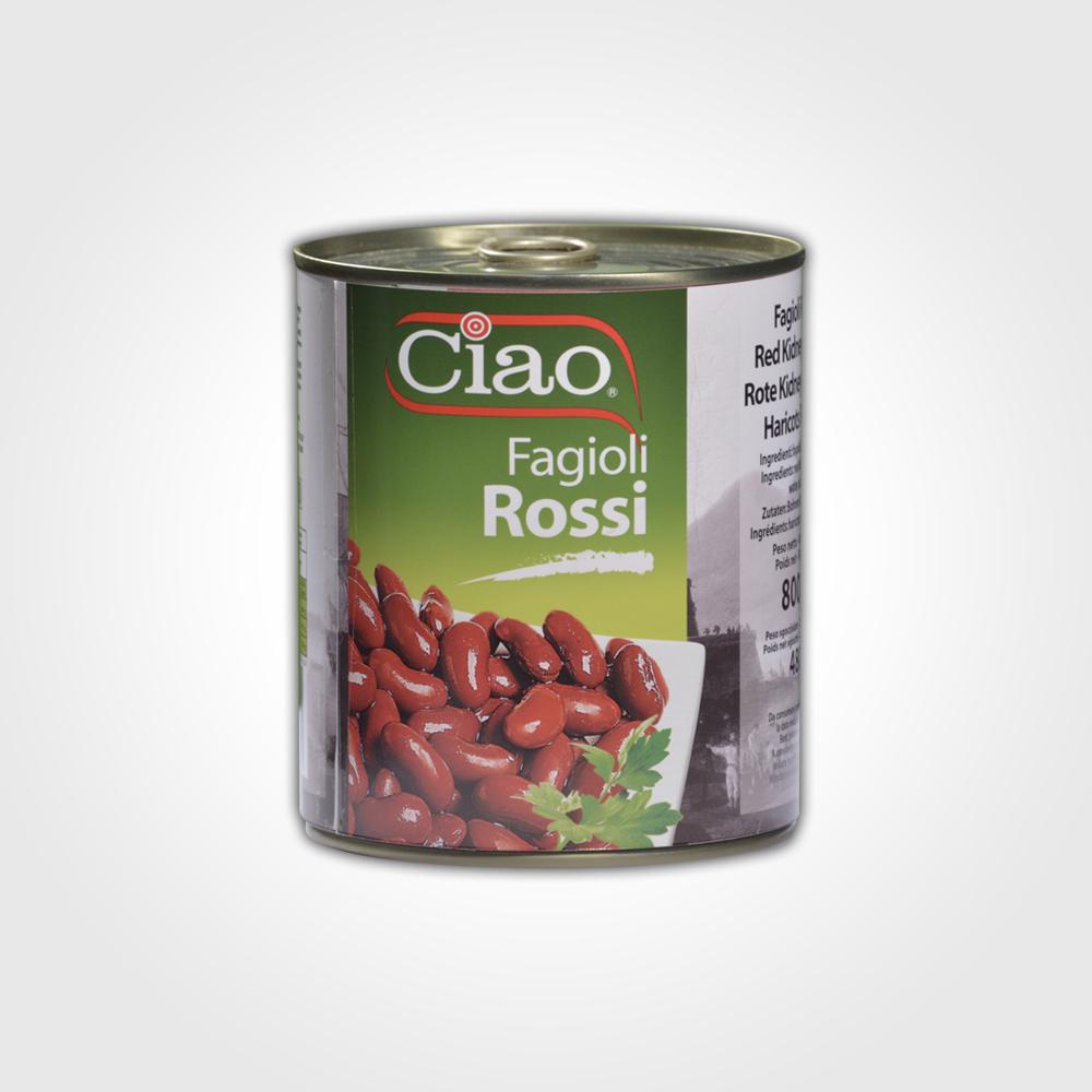 Ciao Fagioli Rossi 800g