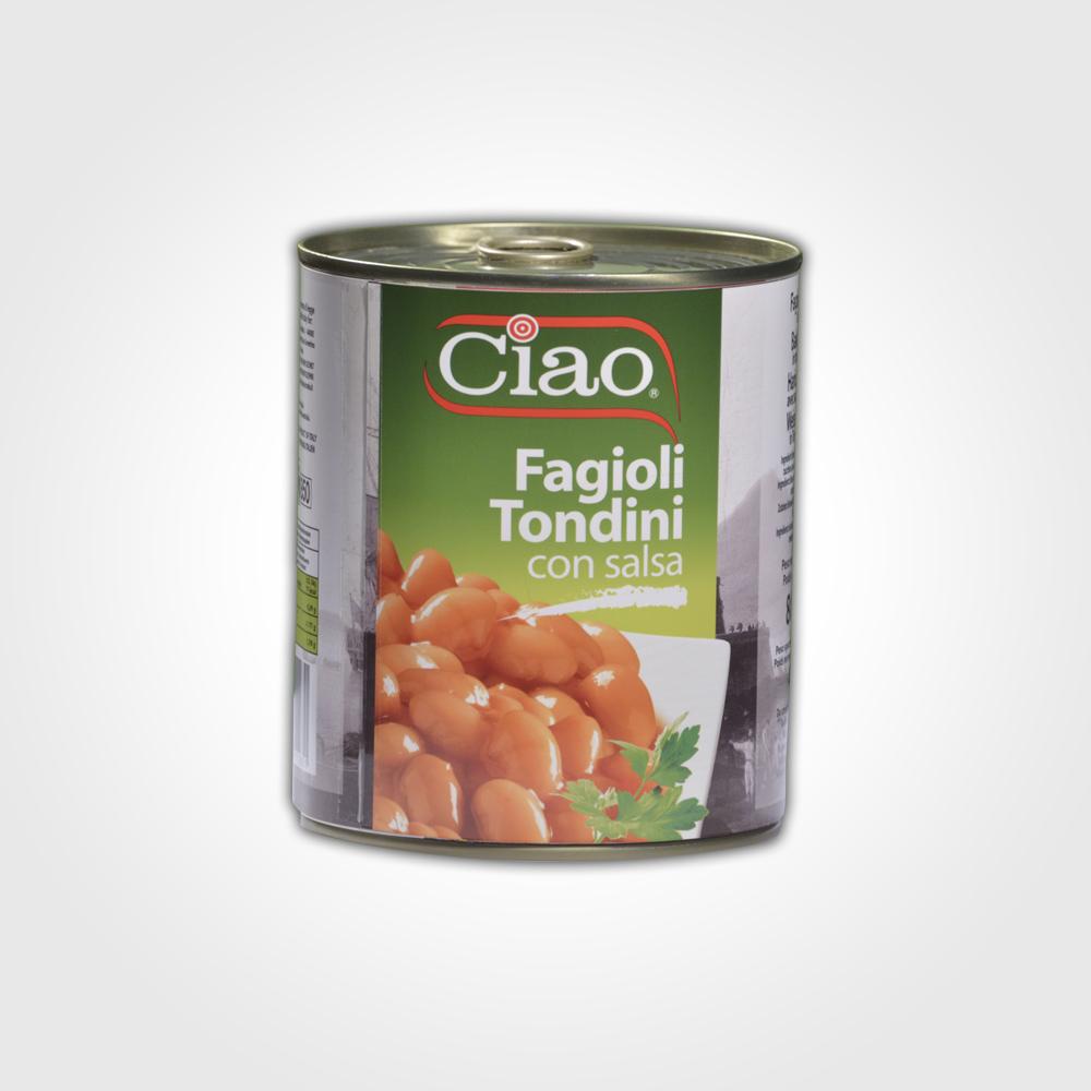 Ciao Fagioli Tondini 800g