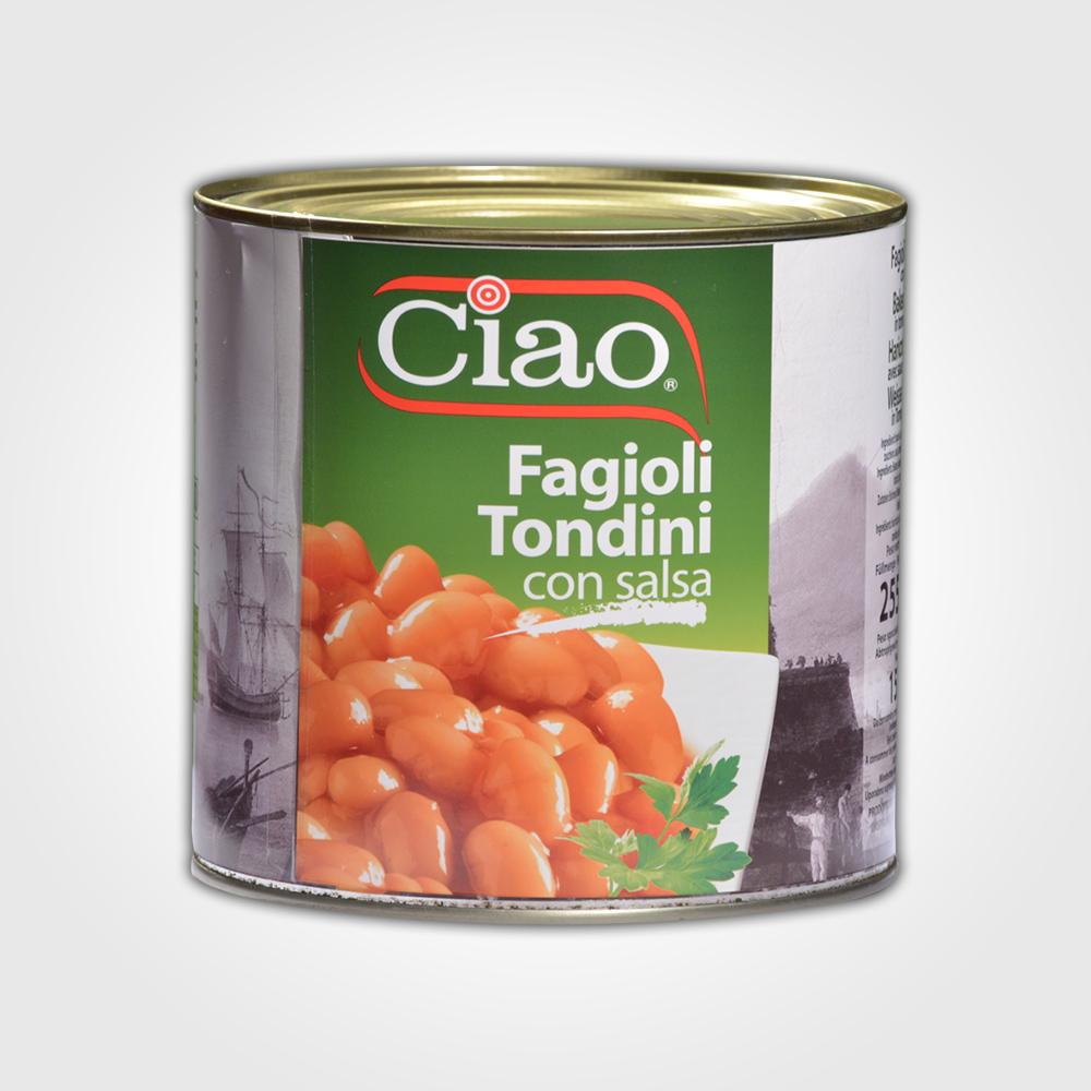 Ciao Fagioli Tondini 2550g