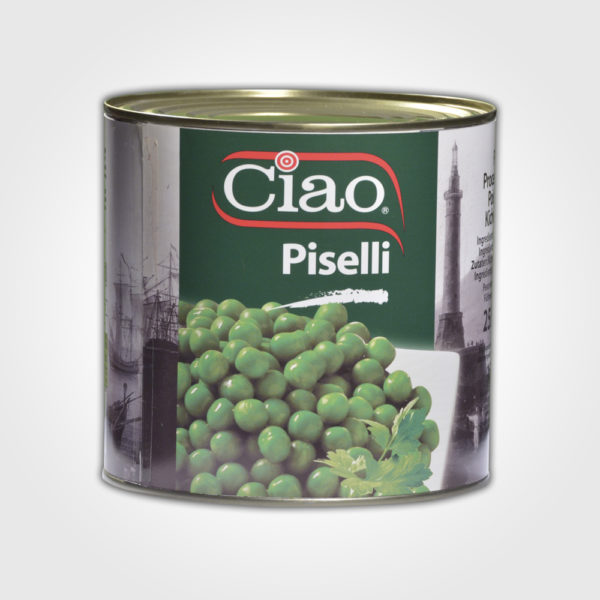 CIAO Medium Peas 2550g