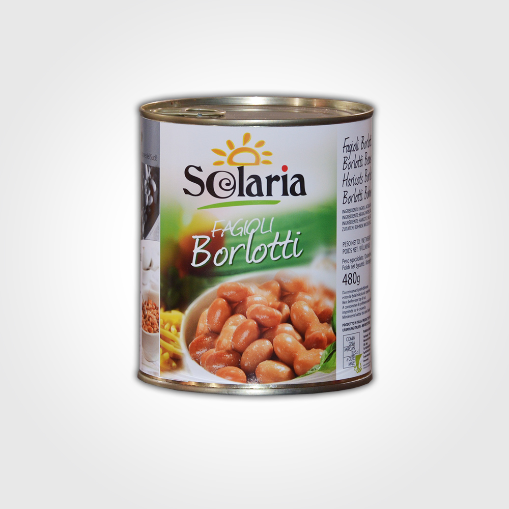 Solaria Fagioli Borlotti 800g