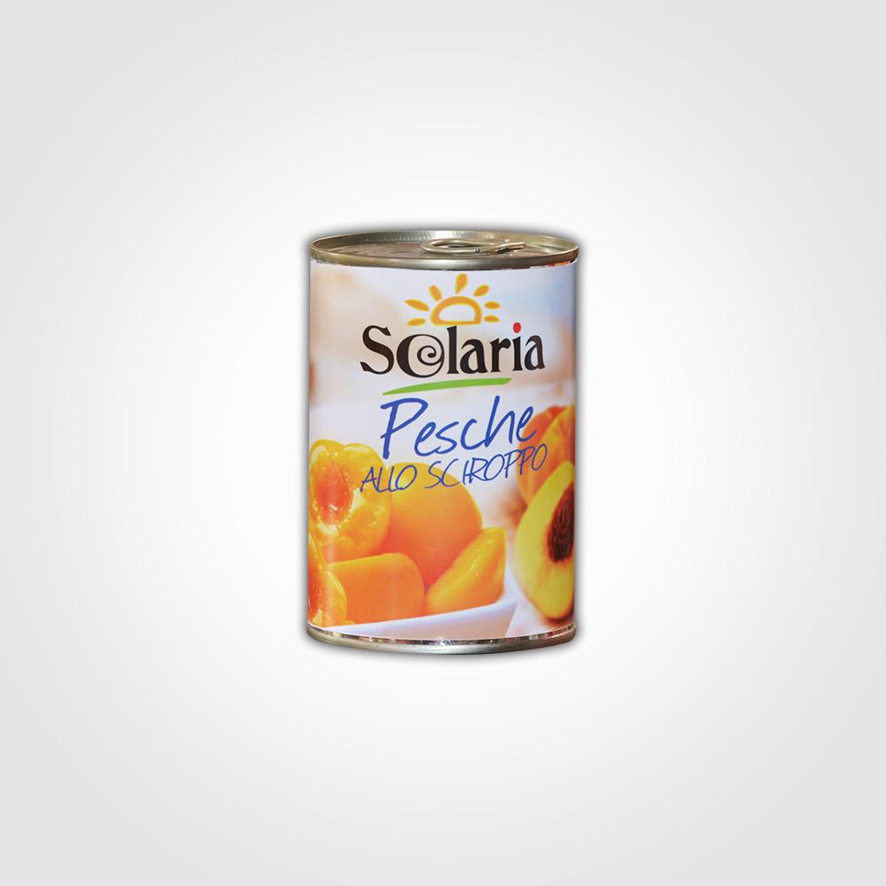 Solaria Pesche allo sciroppo 400g
