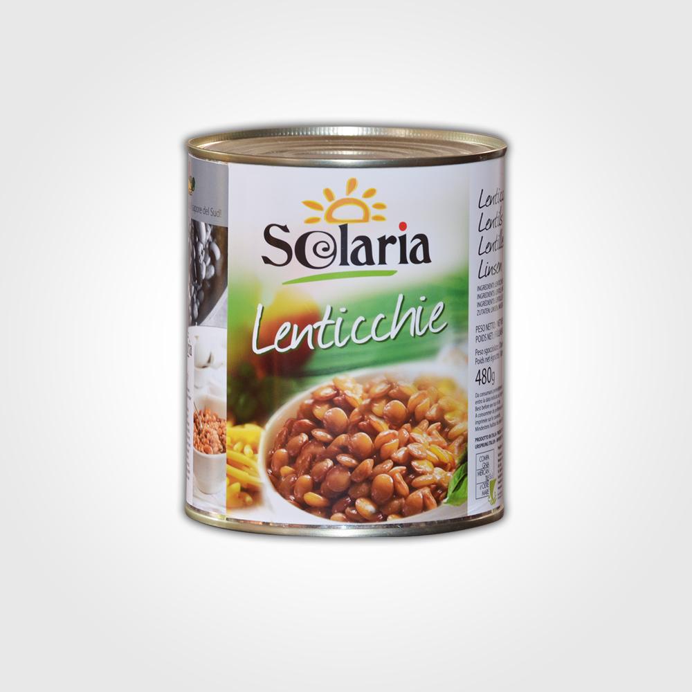 Solaria Lenticchie 800g