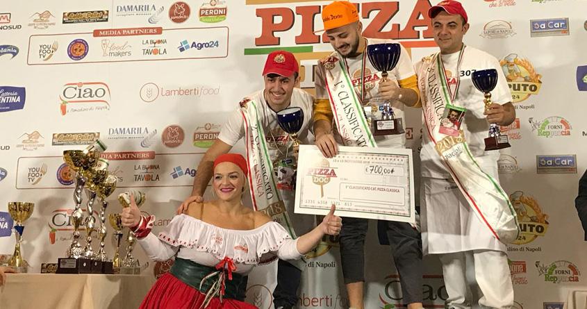 Luigi Greco: campionato nazionale Pizza doc 2018